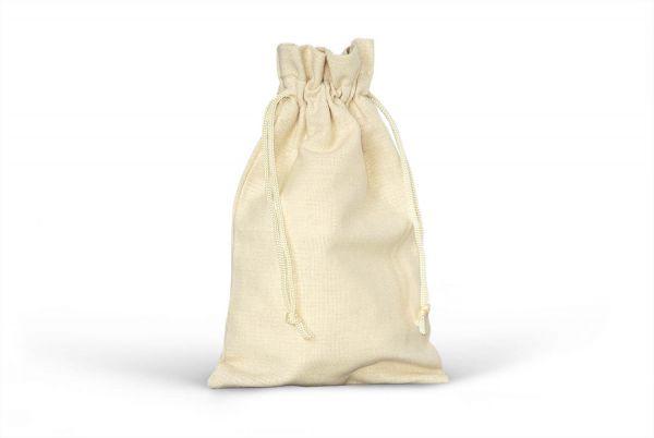 Baumwollsäckchen mit Kordel - Creme