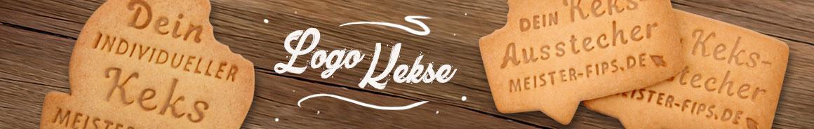 Logokekse - wir backen Ihr Logo als fertigen Keks.